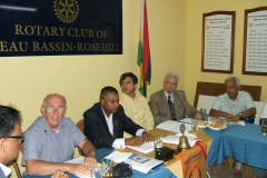 Mauritius Rotary Club presentation